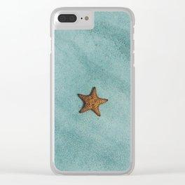 Starfish Ocean Clear iPhone Case
