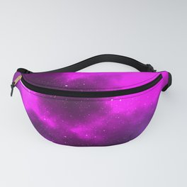 Beautiful Pink Galaxy Milky Way Space Print Fanny Pack