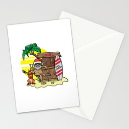Mele Kalikimaka Haka Dance Maori Christmas Hawaii Xmas Gift Stationery Cards