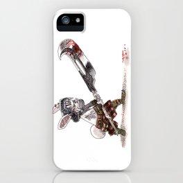 Lapin Barbare iPhone Case