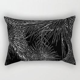 Joshua Tree Silver by CREYES Rectangular Pillow
