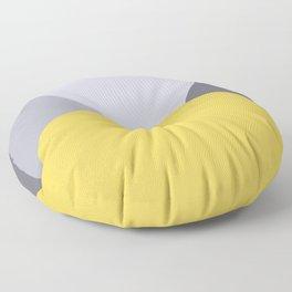 Deyoung Primrose Yellow Floor Pillow