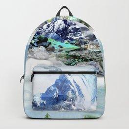 French Alp scene Backpack