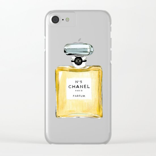 №5 Clear iPhone Case