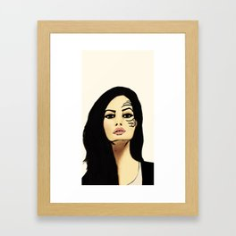iron mike Framed Art Print