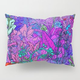 Electric Garden Pillow Sham