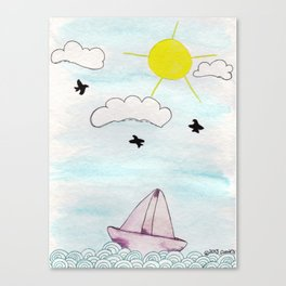 Sail away* Canvas Print