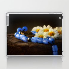 Blue Marbles Laptop & iPad Skin