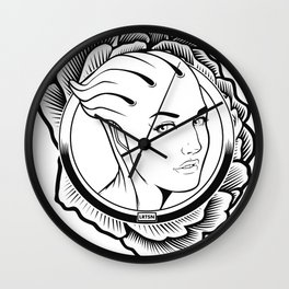 Mass Effect. Liara T'soni Wall Clock