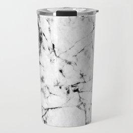 Marble Concrete Stone Texture Pattern Effect Dark Grain Travel Mug