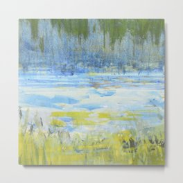 Marsh Grass  Metal Print