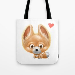 Super cute baby fox kawaii perfect for all animal lovers! Tote Bag
