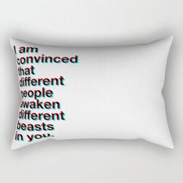 I Am Convinced Rectangular Pillow