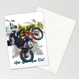 Gas Gas ec300 Stunt Rider Stationery Cards