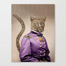 Grand Viceroy Leopold Leopard Canvas Print