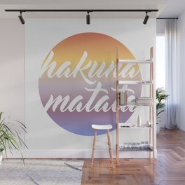 Hakuna Matata Wall Mural