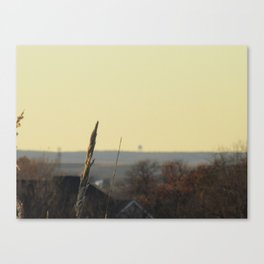 in the still of autumn Canvas Print