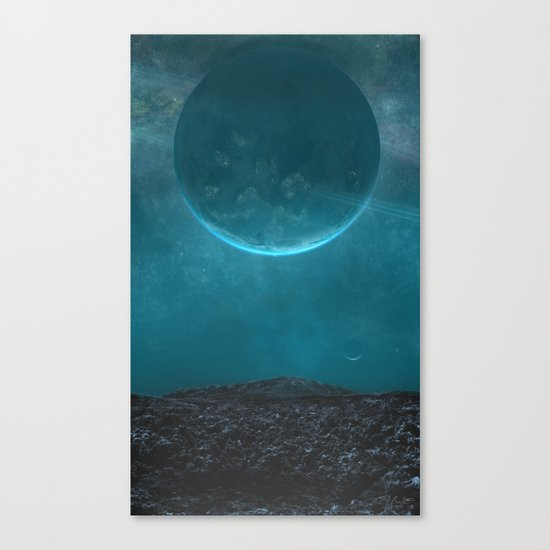 Absolute Zero Canvas Print