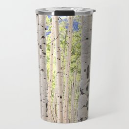 Dreamy Aspen Grove Travel Mug