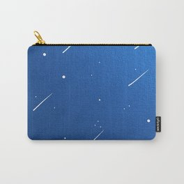 Shooting Stars in a Clear Blue Sky Carry-All Pouch