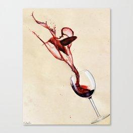 Hummingbird Blood Canvas Print