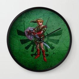 Legend of Zelda-Link Wall Clock
