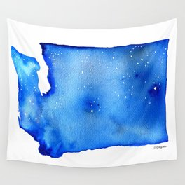 Washington State Starry Night Wall Tapestry