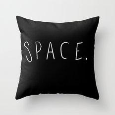 Space. Throw Pillow
