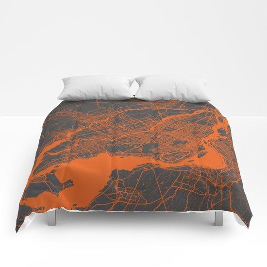 Montreal Orange Comforters