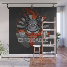 Everyone is EXPENDABLE - HEAVY Wall Mural