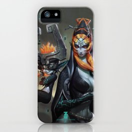 Midna Twilight Princess x 2 iPhone Case