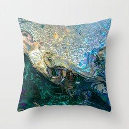 Sea Nymph Abstract Throw Pillow