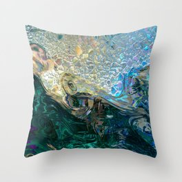Sea Nymph Abstract Throw Pillow