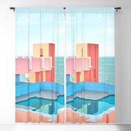 Muralla Roja Blackout Curtain