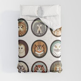 Owls of the Eastern United States Comforters
