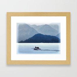 Lake Como Framed Art Print