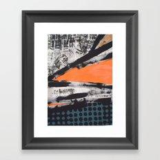 CUT  UP Framed Art Print