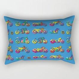 AP172-8 Motorcycles Rectangular Pillow