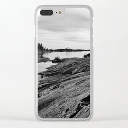 The Massasauga Park Clear iPhone Case