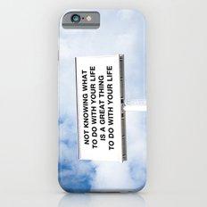 NOTKNOWING pt 2 Slim Case iPhone 6s