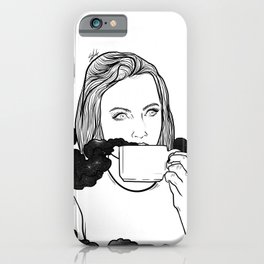Magical coffee. iPhone Case