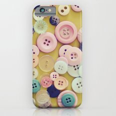 Vintage Buttons  iPhone 6s Slim Case