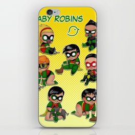 Baby Robins iPhone Skin