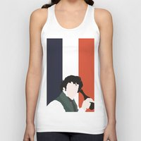 grantaire Tank Tops featuring GRANTAIRE – LES MISÉRABLES by K. Frank