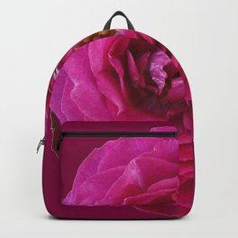 """""""BLUE YONDER"""" MAGENTA ROSE  MAGENTA COLOR ART Backpack"""