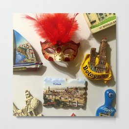 Pins from Italy Metal Print