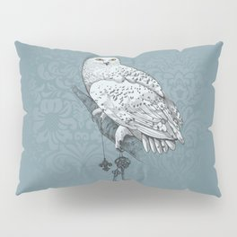 Secrets of the Snowy Owl Pillow Sham