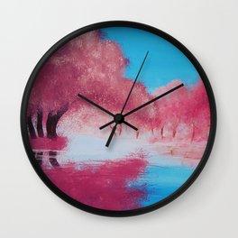 Warm Light Wall Clock