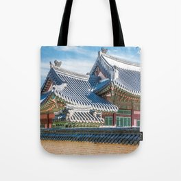 The Queen's Main Residence_Gyeongbokgung Palace Tote Bag