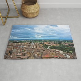 Siena, Italy - from above Rug